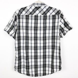 American Eagle Outfitters Tops - American Eagle Plaid Button Down Shirt Top   Med